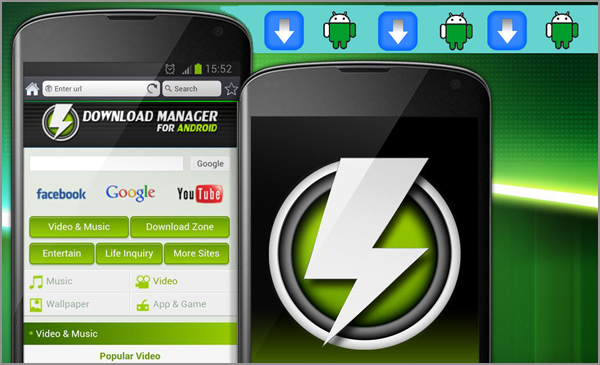 android-download-manager