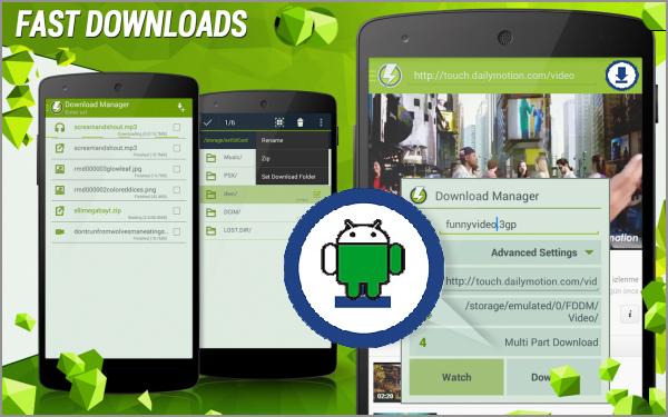 fast-download-gestionnaire-de-telechargement-android