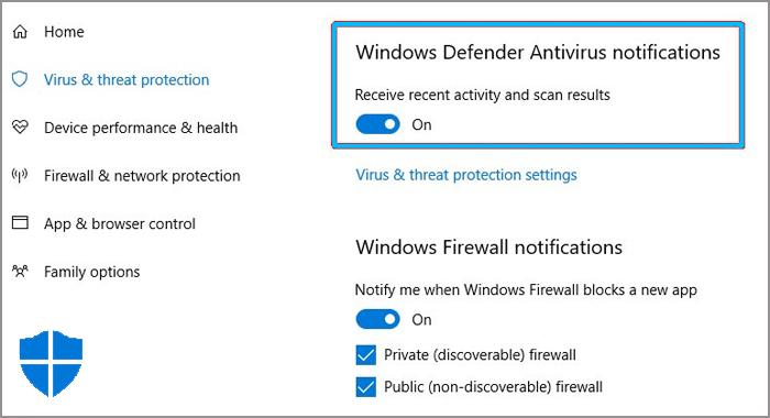 comment désactiver windows defender
