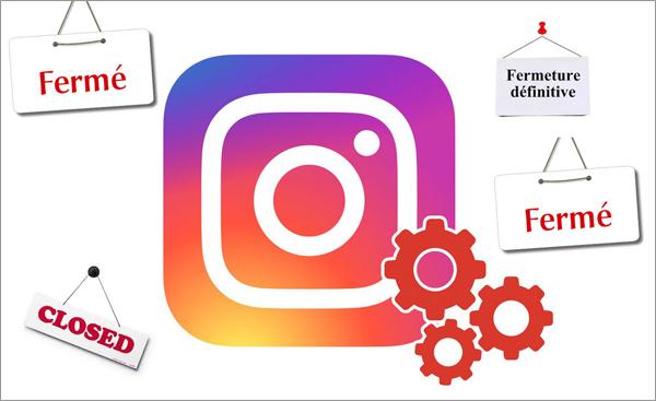 desactiver compte instagram