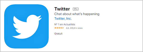 mettre a jour twitter ios