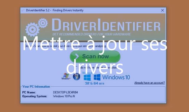 Mettre à jour ses drivers