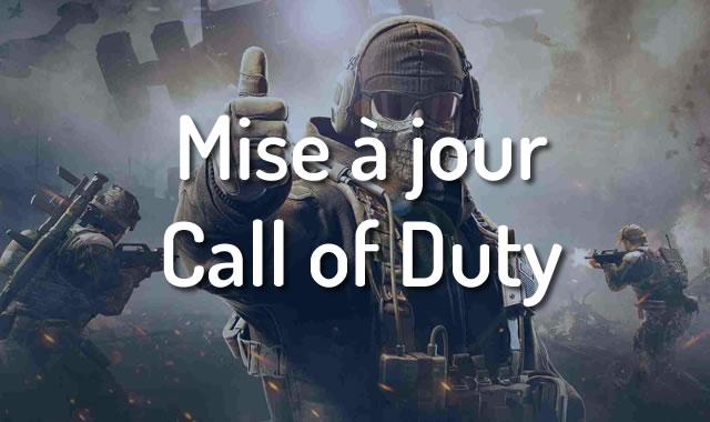 Mise à jour Call of Duty