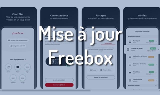 Mise à jour Freebox
